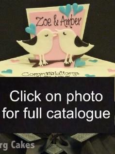 Engagement and Anniversary Cake