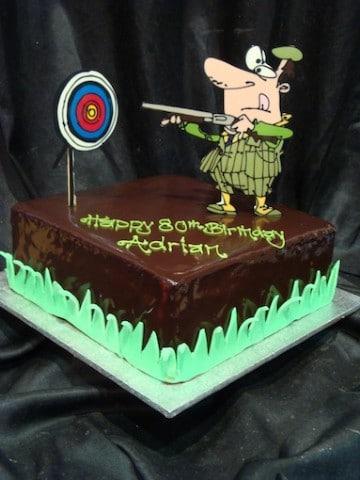 Leisure 8 Target Shooting 20800 VIEW OR ORDER CAKE