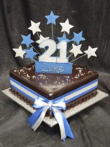 Boys 18th and 21st cake 32 - Heidelberg Cakes