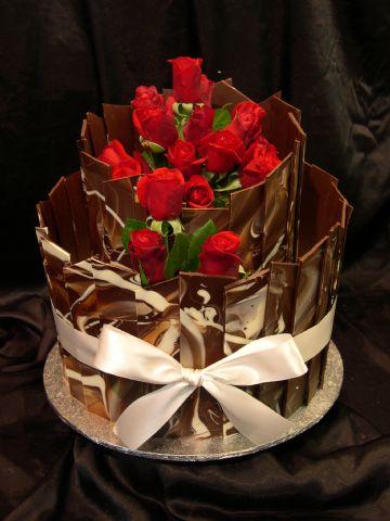 Chocolate Shards and Collars Heidelberg Cakes