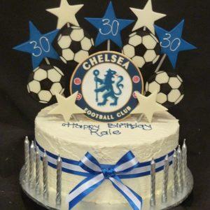 Excellent Chelsea Heidelberg Cakes Personalised Birthday Cards Veneteletsinfo