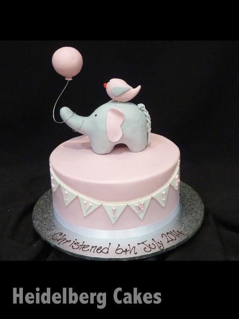 Christening Cake Girl 7